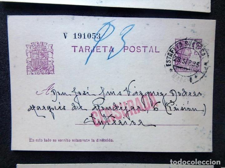 Postales: (JX-191088)LOTE DE 82 TARJETAS POSTALES GUERRA CIVIL.REMITIDAS A JOSE LUIS VAZQUEZ DODERO,PERIODISTA - Foto 15 - 178722716