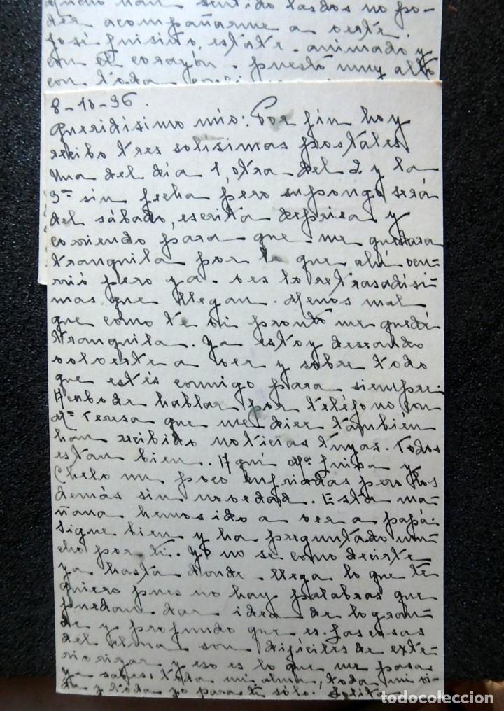 Postales: (JX-191088)LOTE DE 82 TARJETAS POSTALES GUERRA CIVIL.REMITIDAS A JOSE LUIS VAZQUEZ DODERO,PERIODISTA - Foto 19 - 178722716