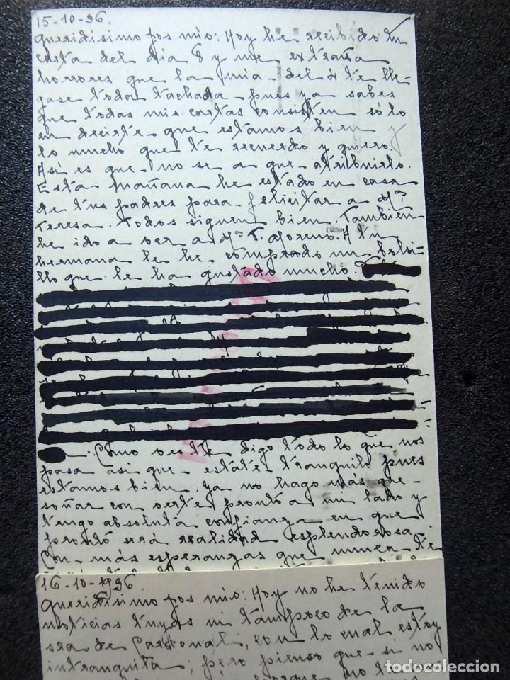 Postales: (JX-191088)LOTE DE 82 TARJETAS POSTALES GUERRA CIVIL.REMITIDAS A JOSE LUIS VAZQUEZ DODERO,PERIODISTA - Foto 25 - 178722716