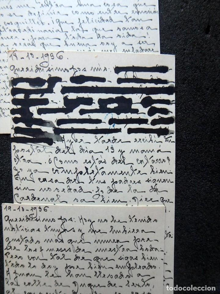 Postales: (JX-191088)LOTE DE 82 TARJETAS POSTALES GUERRA CIVIL.REMITIDAS A JOSE LUIS VAZQUEZ DODERO,PERIODISTA - Foto 26 - 178722716