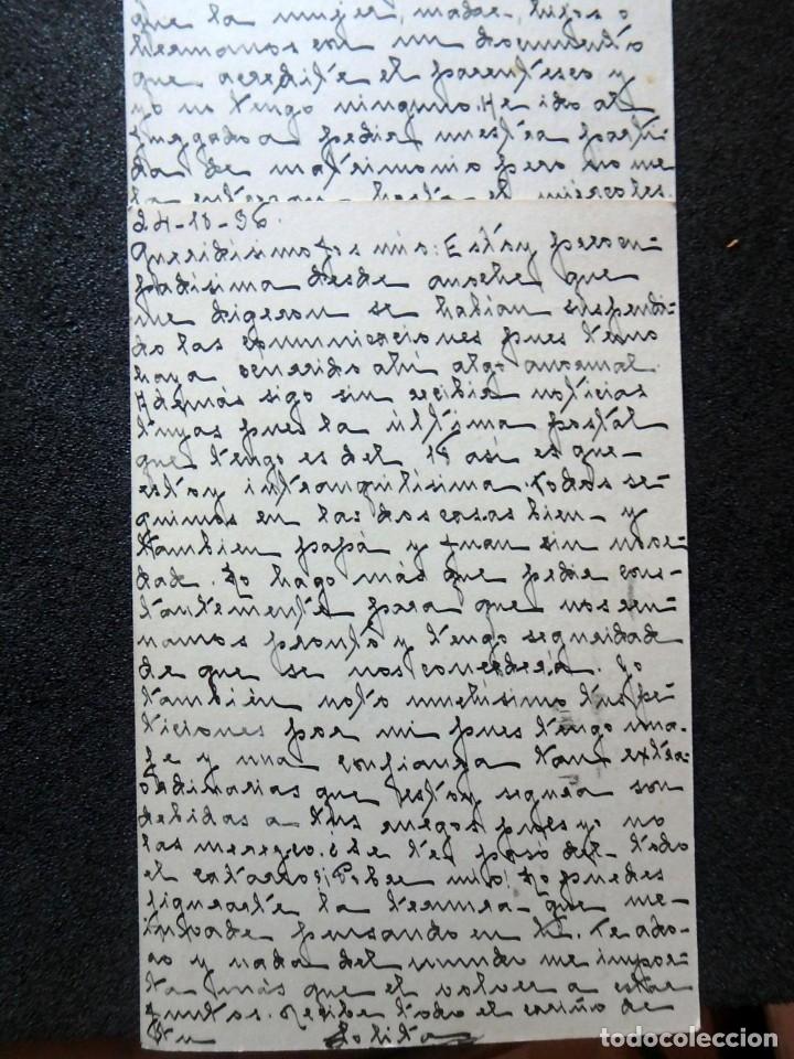 Postales: (JX-191088)LOTE DE 82 TARJETAS POSTALES GUERRA CIVIL.REMITIDAS A JOSE LUIS VAZQUEZ DODERO,PERIODISTA - Foto 27 - 178722716