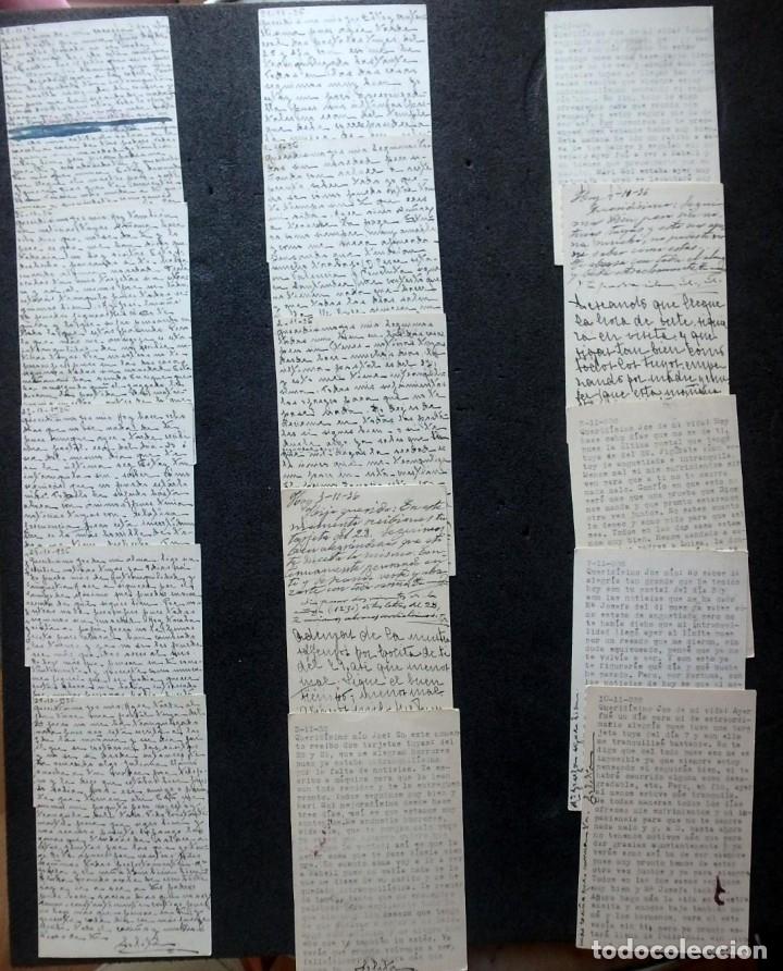 Postales: (JX-191088)LOTE DE 82 TARJETAS POSTALES GUERRA CIVIL.REMITIDAS A JOSE LUIS VAZQUEZ DODERO,PERIODISTA - Foto 30 - 178722716