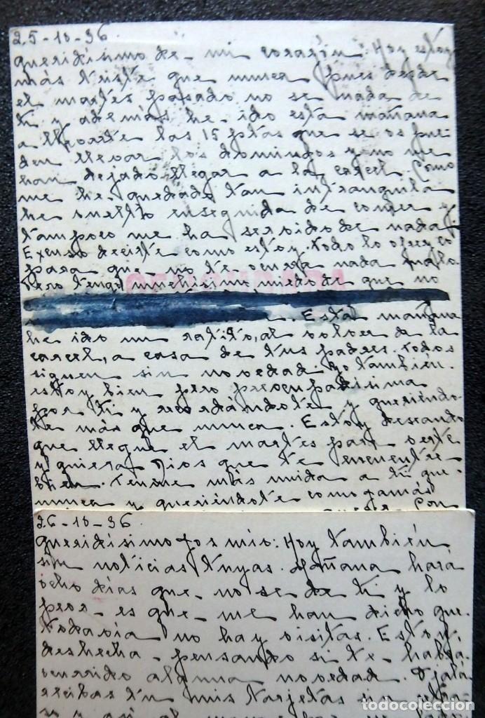 Postales: (JX-191088)LOTE DE 82 TARJETAS POSTALES GUERRA CIVIL.REMITIDAS A JOSE LUIS VAZQUEZ DODERO,PERIODISTA - Foto 31 - 178722716