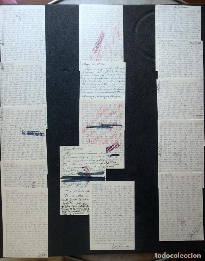 Postales: (JX-191088)LOTE DE 82 TARJETAS POSTALES GUERRA CIVIL.REMITIDAS A JOSE LUIS VAZQUEZ DODERO,PERIODISTA - Foto 40 - 178722716