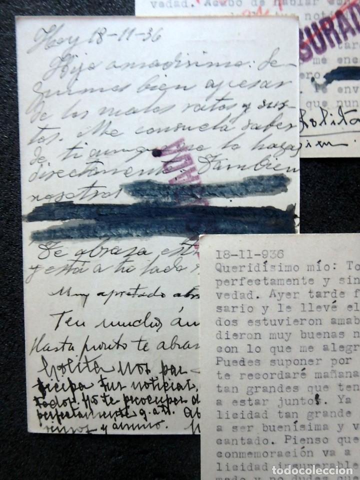 Postales: (JX-191088)LOTE DE 82 TARJETAS POSTALES GUERRA CIVIL.REMITIDAS A JOSE LUIS VAZQUEZ DODERO,PERIODISTA - Foto 43 - 178722716