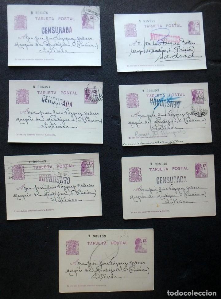 Postales: (JX-191088)LOTE DE 82 TARJETAS POSTALES GUERRA CIVIL.REMITIDAS A JOSE LUIS VAZQUEZ DODERO,PERIODISTA - Foto 45 - 178722716