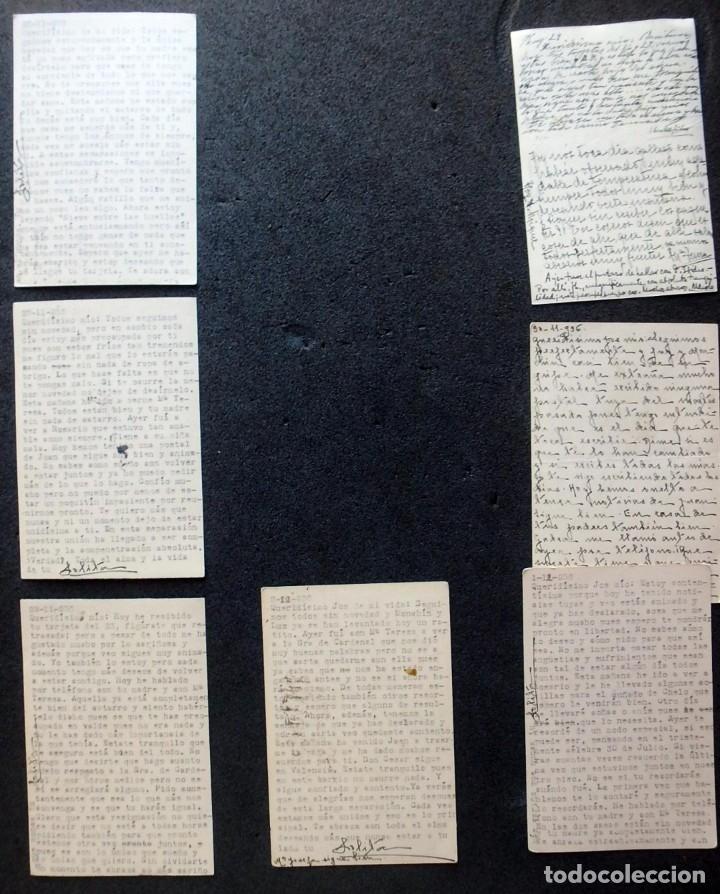 Postales: (JX-191088)LOTE DE 82 TARJETAS POSTALES GUERRA CIVIL.REMITIDAS A JOSE LUIS VAZQUEZ DODERO,PERIODISTA - Foto 47 - 178722716