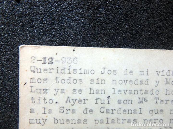 Postales: (JX-191088)LOTE DE 82 TARJETAS POSTALES GUERRA CIVIL.REMITIDAS A JOSE LUIS VAZQUEZ DODERO,PERIODISTA - Foto 51 - 178722716