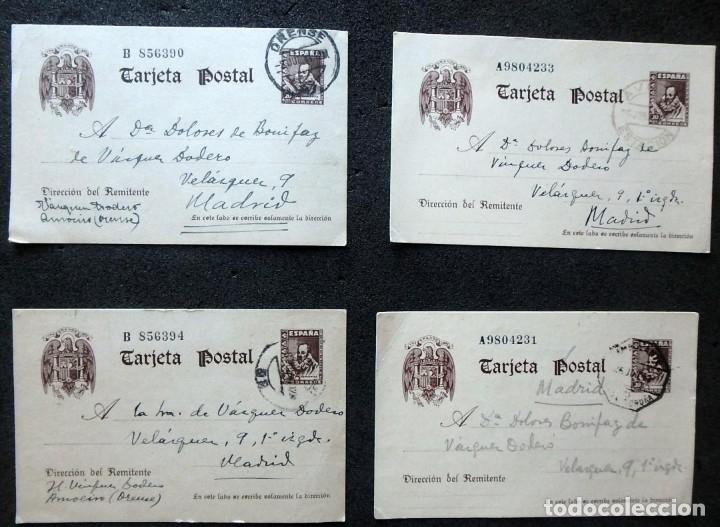 Postales: (JX-191088)LOTE DE 82 TARJETAS POSTALES GUERRA CIVIL.REMITIDAS A JOSE LUIS VAZQUEZ DODERO,PERIODISTA - Foto 52 - 178722716