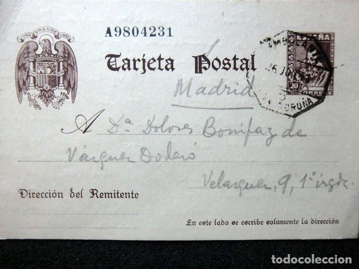 Postales: (JX-191088)LOTE DE 82 TARJETAS POSTALES GUERRA CIVIL.REMITIDAS A JOSE LUIS VAZQUEZ DODERO,PERIODISTA - Foto 53 - 178722716