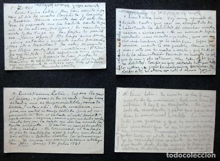 Postales: (JX-191088)LOTE DE 82 TARJETAS POSTALES GUERRA CIVIL.REMITIDAS A JOSE LUIS VAZQUEZ DODERO,PERIODISTA - Foto 54 - 178722716