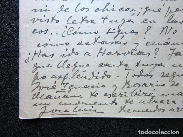 Postales: (JX-191088)LOTE DE 82 TARJETAS POSTALES GUERRA CIVIL.REMITIDAS A JOSE LUIS VAZQUEZ DODERO,PERIODISTA - Foto 55 - 178722716