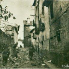 Postales: HUESCA FRENTE DE ARAGÓN. LA TOMA DE SIÉTAMO 1936. MUY RARA.. Lote 179071962