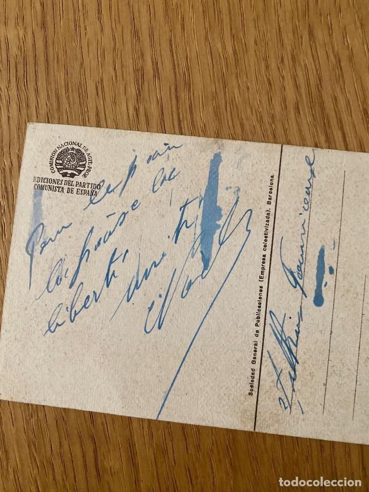 Postales: Postal original guerra civil, edita partido comunista: WOROCHILOW - Foto 2 - 180183276