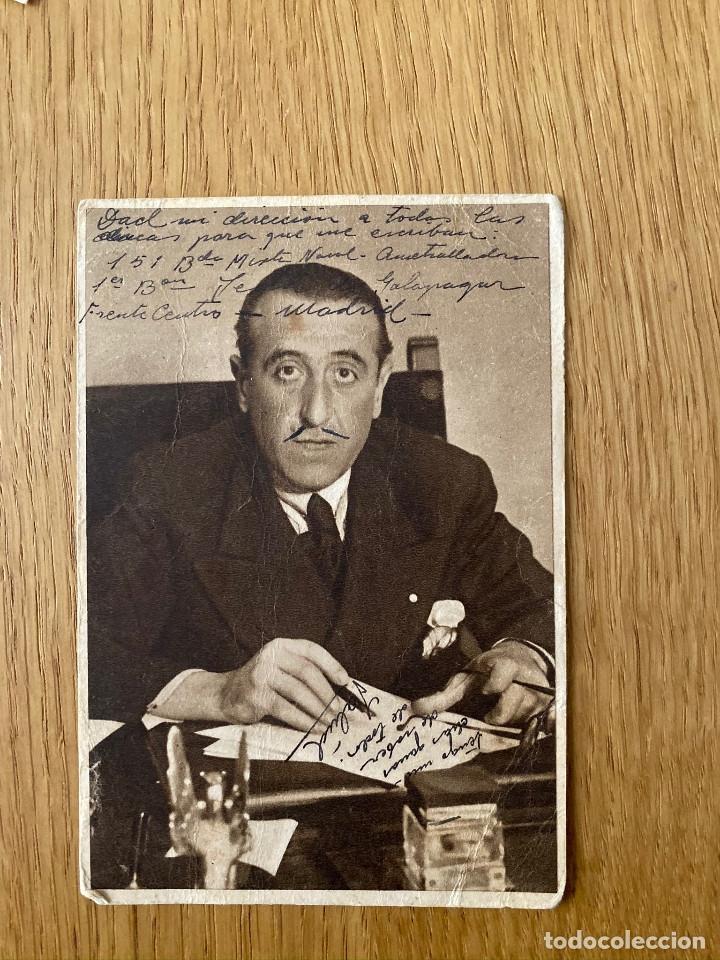 JOSE CARREÑO. POSTAL ORIGINAL GUERRA CIVIL, EDITA JUNTA DELEGEDA DEFENSA DE MADRID, 1937 (Postales - Postales Temáticas - Guerra Civil Española)