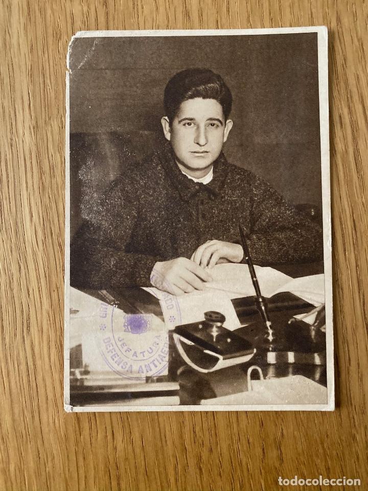JOSE CAZORLA. POSTAL ORIGINAL GUERRA CIVIL, EDITA JUNTA DELEGEDA DEFENSA DE MADRID, 1937 (Postales - Postales Temáticas - Guerra Civil Española)