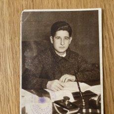 Postales: JOSE CAZORLA. POSTAL ORIGINAL GUERRA CIVIL, EDITA JUNTA DELEGEDA DEFENSA DE MADRID, 1937. Lote 180185502