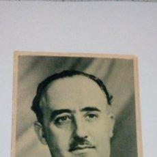 Postales: POSTAL GENERAL FRANCO EL CAUDILLO HUECOGRABADO MUMBRU BARCELONA . Lote 184214367