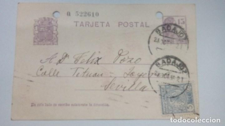 TARJETA POSTAL ALUSIVA AL FRANQUISMO 1936 CIRCULADA (Postales - Postales Temáticas - Guerra Civil Española)