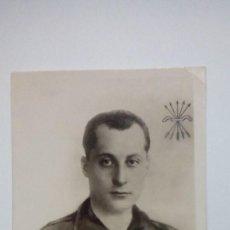 Postales: TARJETA POSTAL JOSE ANTONIO PRIMO DE RIVERA JEFE NACIONAL DE FALANGE ESPAÑOLA AÑOS 30. Lote 185717238