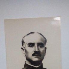 Postales: TARJETA POSTAL GENERAL QUEIPO DE LLANO AÑOS 30 . Lote 185717346