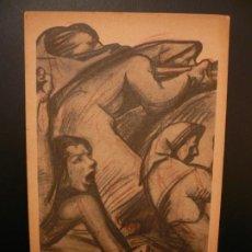 Postales: POSTAL GUERRA CIVIL. AGRUPACIÓN 'MUJERES LIBRES'. C.N.T.- F.A.I.. Lote 186026967