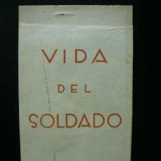 Postales: POSTAL GUERRA CIVIL. COLECCIÓN COMPLETA DE 12 POSTALES 'VIDA DEL SOLDADO'. SOCORRO ROJO DE VALENCIA.. Lote 186050967