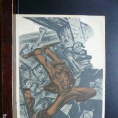 Postales: POSTAL GUERRA CIVIL. EDITADA POR LA C.N.T. F.A.I. FONDO BLANCO. Lote 186297808