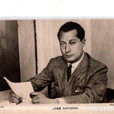 Postales: TARJETA POSTAL DE JOSE ANTONIO. FOTO MARIN, SAN SEBASTIAN. REGISTRADO.. Lote 189551603