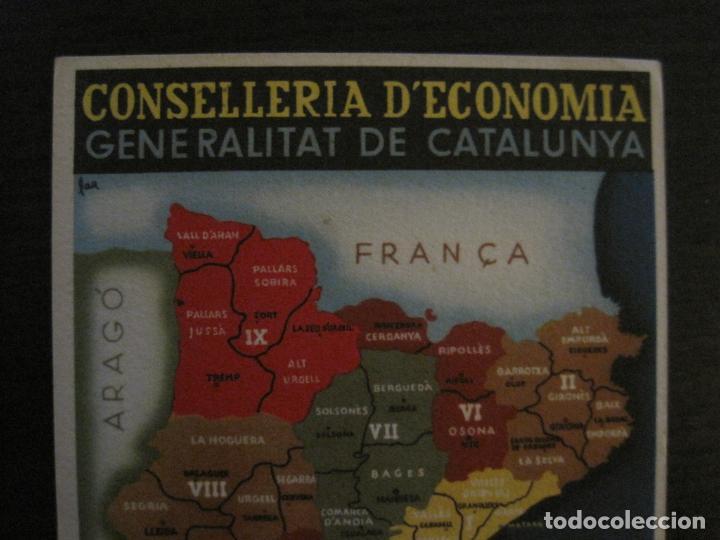 Postales: GUERRA CIVIL-GENERALITAT CATALUNYA-CONSELLERIA ECONOMIA-ANY 1936-POSTAL ANTIGUA-VER FOTOS-(65.808) - Foto 2 - 190155217