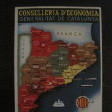 Postales: GUERRA CIVIL-GENERALITAT CATALUNYA-CONSELLERIA ECONOMIA-ANY 1936-POSTAL ANTIGUA-VER FOTOS-(65.808). Lote 190155217