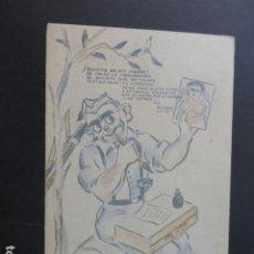 Postales: POSTAL HUMORISTICA MILICIANO REPUBLICANO PICHE ILUSTRADOR ED. CELTA LUGO. Lote 190936826