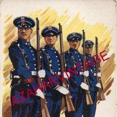Postales: GUARDIAS DE ASALTO - SERIE LOS SALVADORES DE ESPAÑA, SERIE A, NUM.10. Lote 191519362
