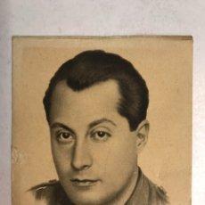 Postales: FALANGE ESPAÑOLA. FOTOGRAFÍA JOSÉ ANTONIO PRIMO DE RIVERA. FUNDADOR DE LA FALANGE (H.1935?). Lote 192080603