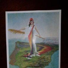 Postales: TARJETA POSTAL DE LA REPÚBLICA ESPAÑOLA - COPIA DEL CUADRO DE M. PRADILLA - SIN CIRCULAR. Lote 211559114