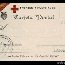 Postales: TC1-52 SEGOVIA - GUERRA CIVIL - TARJETA POSTAL DE FRENTES Y HOSPITALES - OBRA SINDICAL 18 DE JULIO . Lote 194724165
