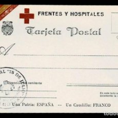 Postales: C1-52 SEGOVIA - GUERRA CIVIL - TARJETA POSTAL DE FRENTES Y HOSPITALES - OBRA SINDICAL 18 DE JULIO . Lote 194724327