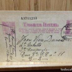 Postales: TARJETA POSTAL CIRCULADA.1938.GUERRA CIVIL.TERRASSA.NUMERADA.. Lote 195240016