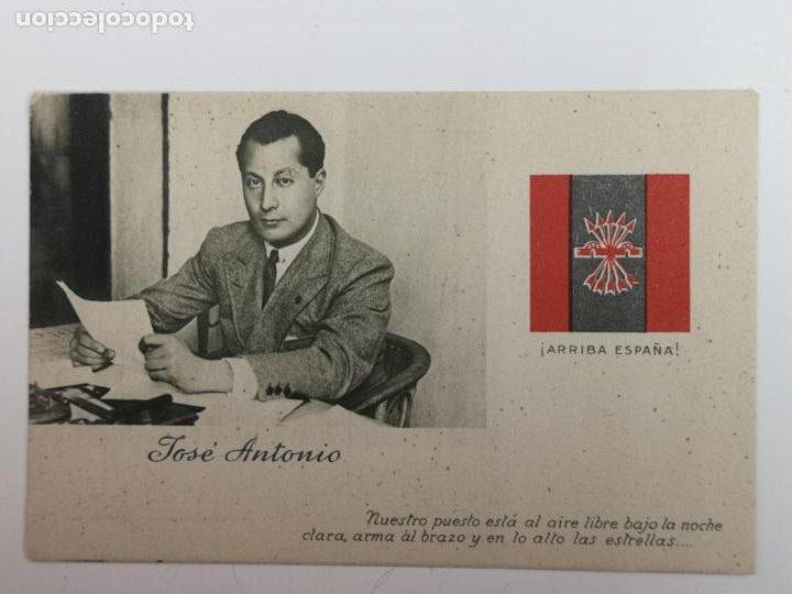 POSTAL DE JOSÉ ANTONIO PRIMO DE RIVERA (Postales - Postales Temáticas - Guerra Civil Española)