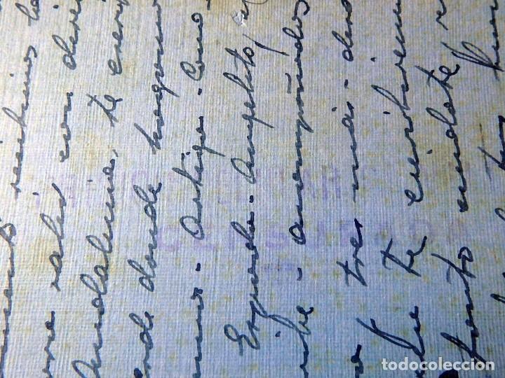 Postales: (JX-200251)Tarjeta postal enviada a D.Luis G.Santa Marina , Cárcel Celular de Valencia . - Foto 6 - 195346507
