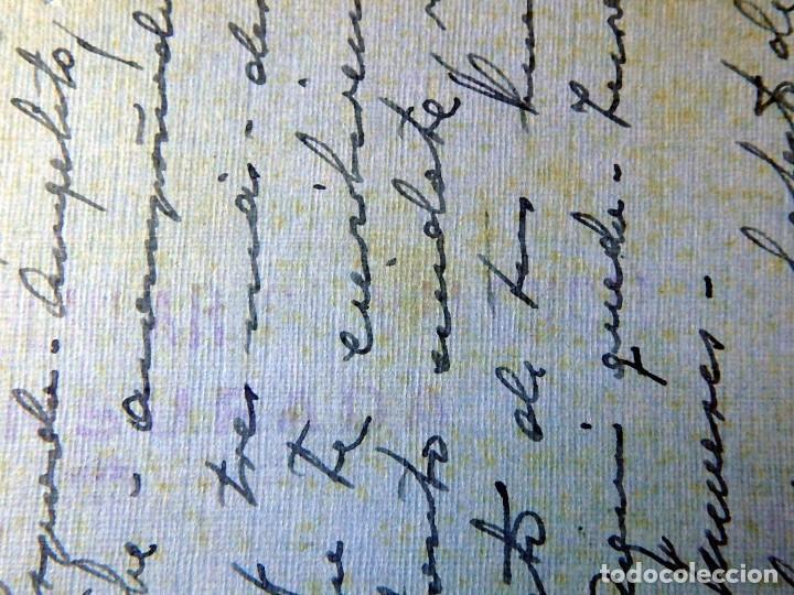 Postales: (JX-200251)Tarjeta postal enviada a D.Luis G.Santa Marina , Cárcel Celular de Valencia . - Foto 7 - 195346507