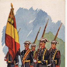 Postales: LOS SALVADORES DE ESPAÑA. SERIE A. Nª 9. ED. URIARTE LA GUARDIA CIVIL.. Lote 196642593