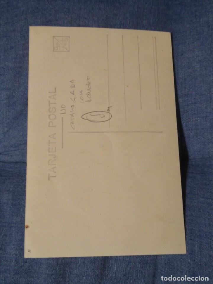 Postales: Rara Postal patriótica. General Mola con bandera. .Sin circular - Foto 2 - 197043450