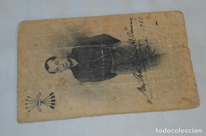 Postales: José Antonio PRIMO De RIVERA / Antigua y rara postal, Original -- ¡Mira! - Foto 2 - 198608503
