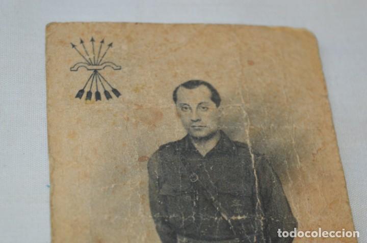 Postales: José Antonio PRIMO De RIVERA / Antigua y rara postal, Original -- ¡Mira! - Foto 3 - 198608503