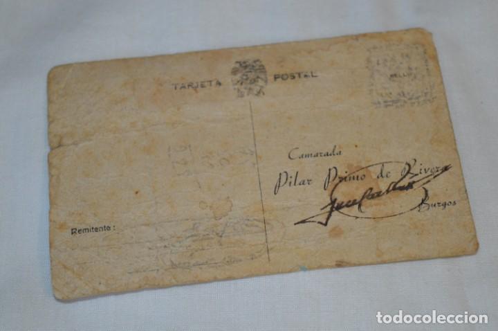 Postales: José Antonio PRIMO De RIVERA / Antigua y rara postal, Original -- ¡Mira! - Foto 5 - 198608503