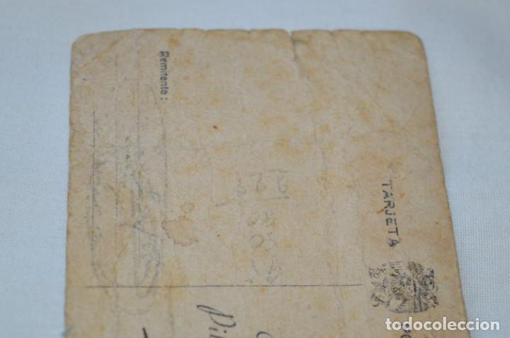 Postales: José Antonio PRIMO De RIVERA / Antigua y rara postal, Original -- ¡Mira! - Foto 6 - 198608503