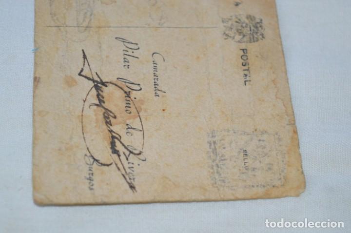 Postales: José Antonio PRIMO De RIVERA / Antigua y rara postal, Original -- ¡Mira! - Foto 7 - 198608503