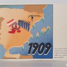 Postales: 1909 / TARJETA POSTA GUERRA CIVIL ESPAÑOLA/ ORIGINAL DE ÉPOCA/ RARA!. Lote 199476291