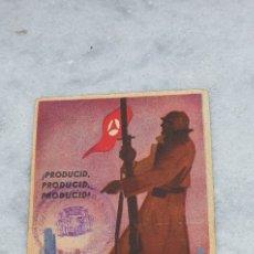 Postales: POSTAL COMISARIADO DE GUERRA. Lote 199510732